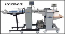 ACCUCREASER with deep pile feeder click for PDF  brochure